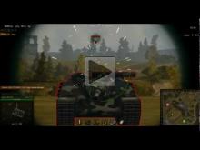 AMX 50 Foch — обстрел