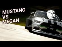 Ford Mustang против Renault Megane. Проверка терпения) Gran