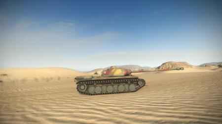 Французский тяжёлый танк 8 го уровня fcm