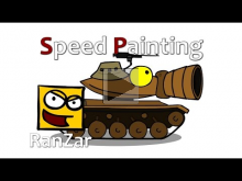Speed Paint Т49. RanZar. Рандомные Зарисовки.