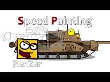 Speed Paint Черчилль ГК. RanZar. Рандомные Зарисовки.
