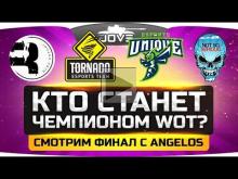 Кто станет чемпионом WoT? ? Смотрим финал WGL между TORNADO,