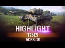 Битва на Миду! Т26Е5 в World of Tanks!