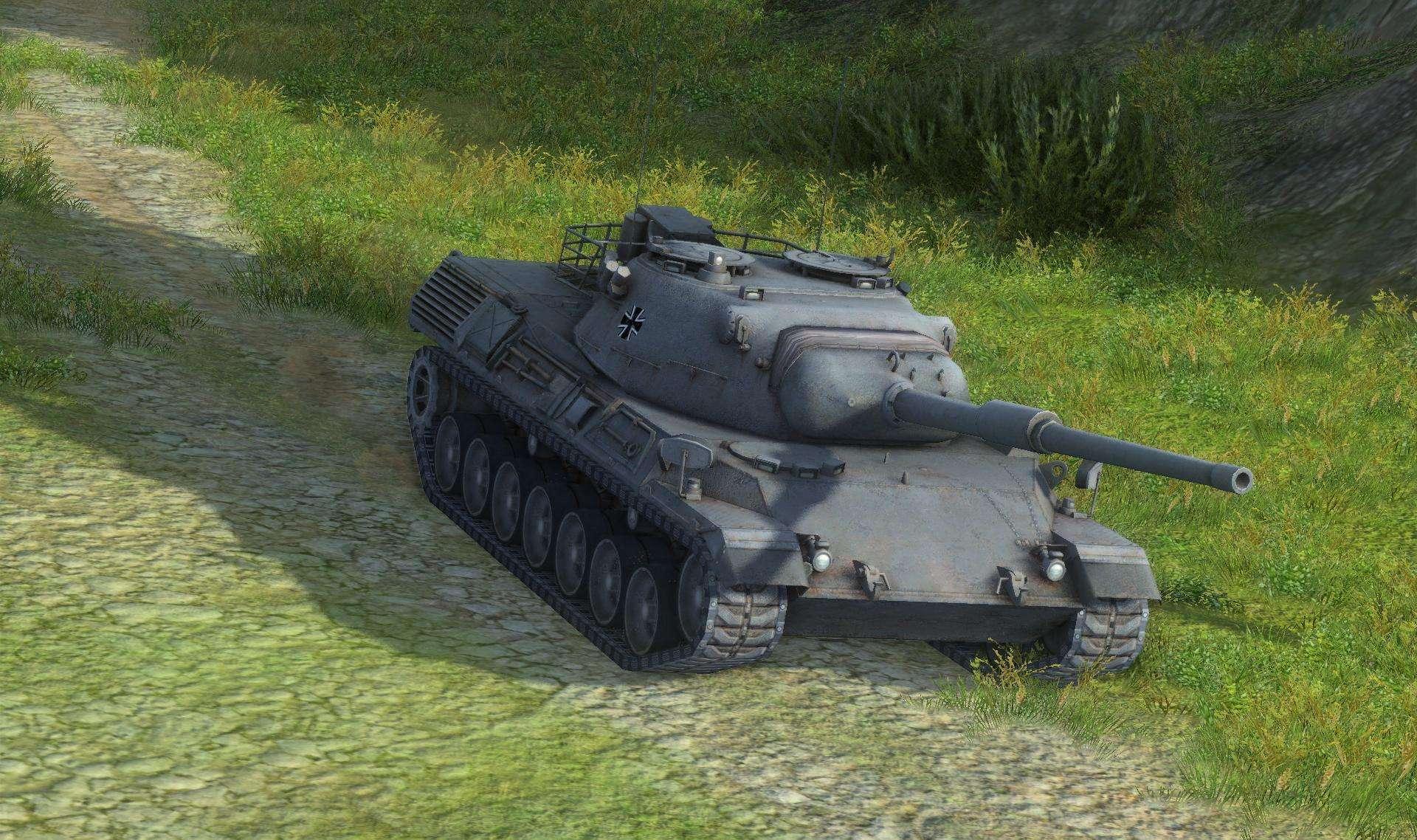 Leopard 1 (средний 10 уровня)