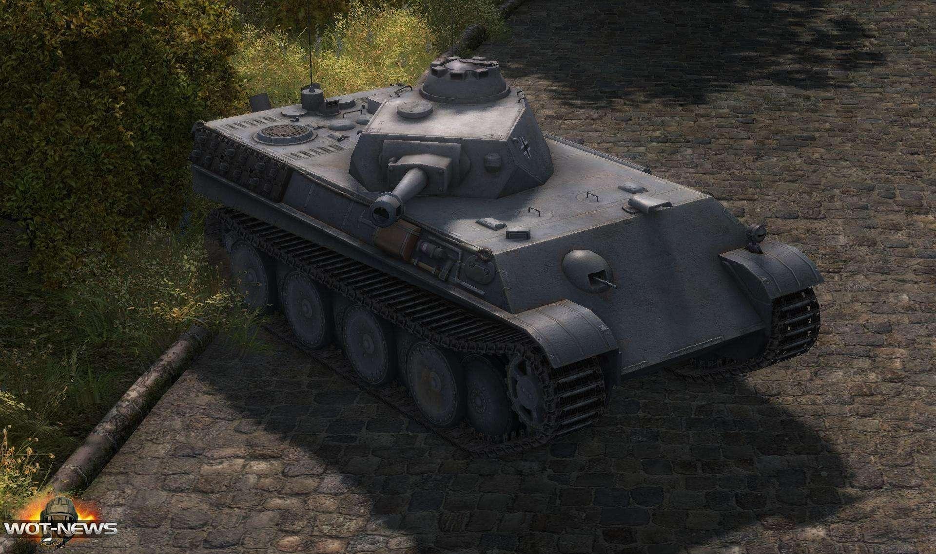 Aufklarerpanzer Panther (легкий 7 уровня)