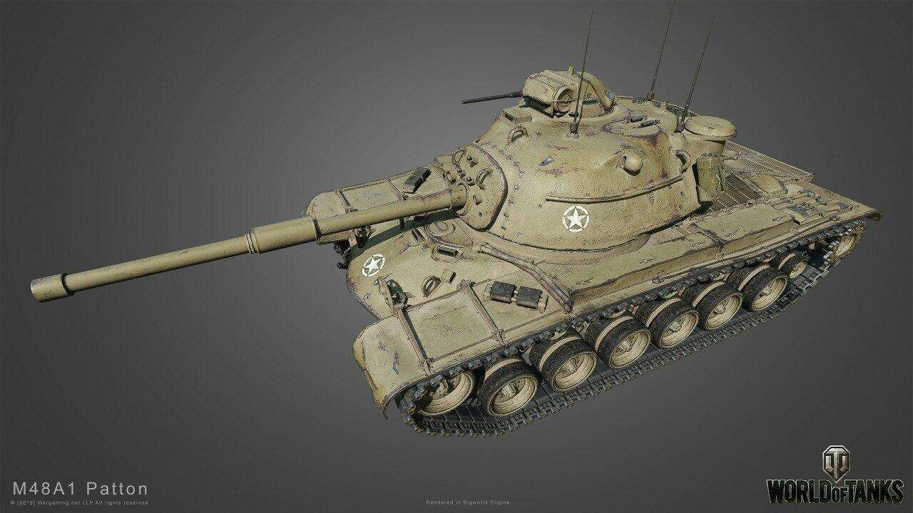 M48 Patton HD