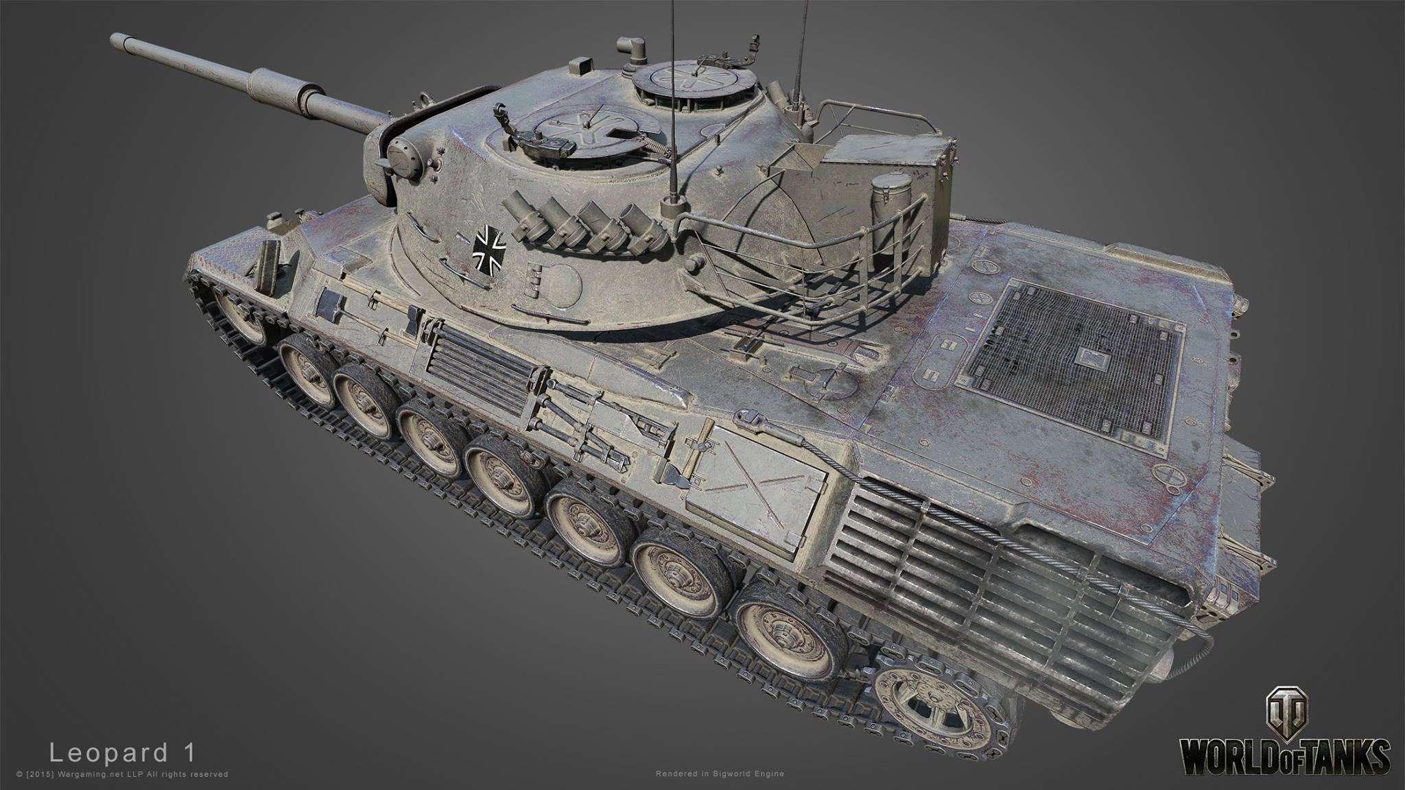 Leopard 1 hd gosu world of tanks