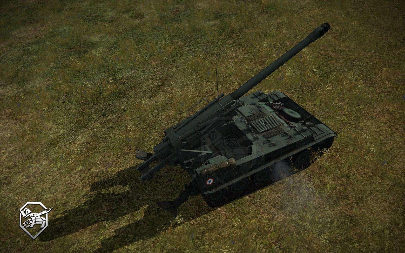 АМХ-13 F3 AM - АРТ САУ 5-го уровня