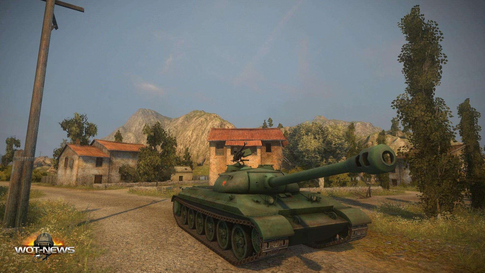 112 - китайский премиумный тяжелый танк 8 уровня