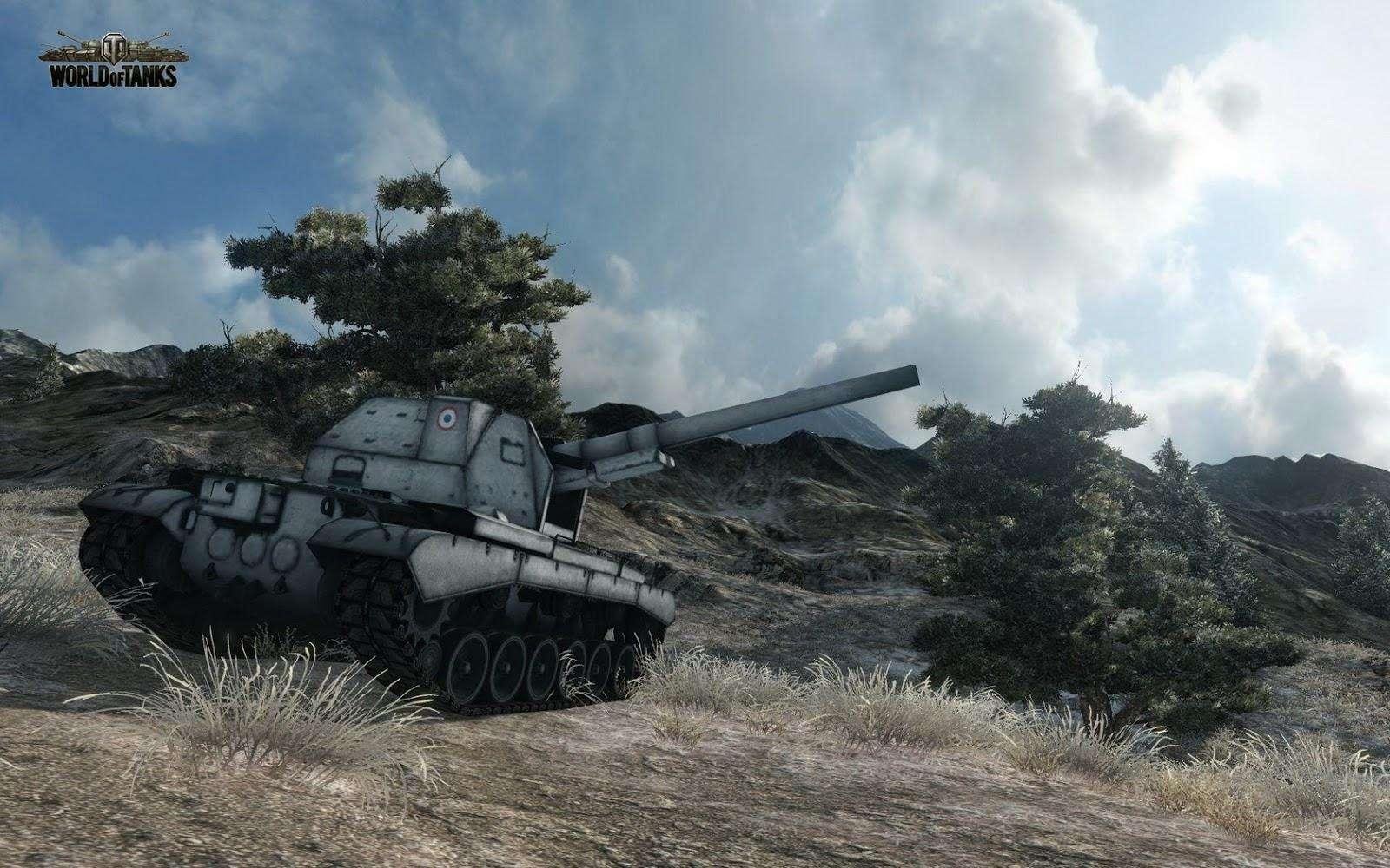 Новые французские танки в обновлении 0