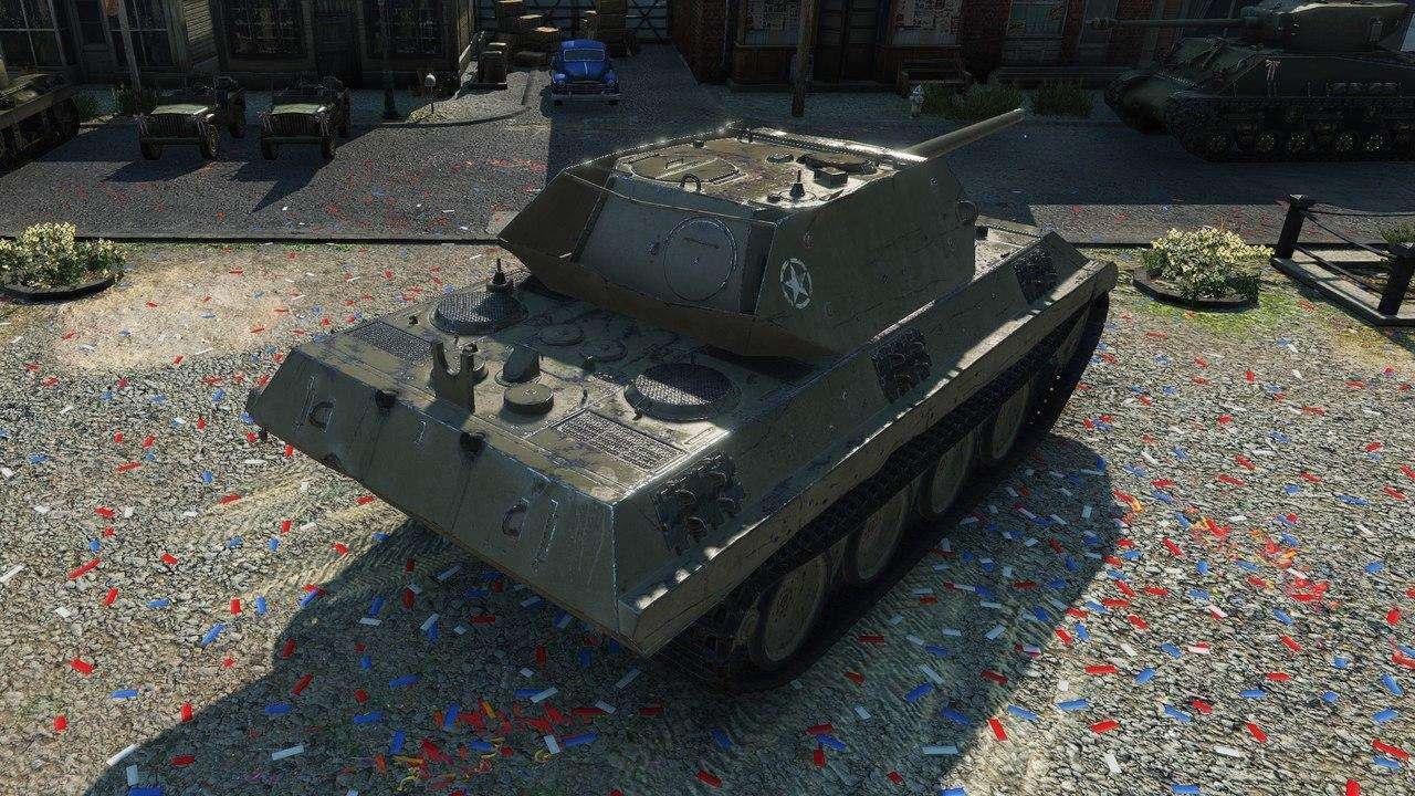 Panther/M10 - Танки с World of Tanks