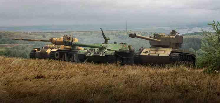 Премиум танки недели: T26E4, WZ— 120— 1G FT и AC 4 Exp.