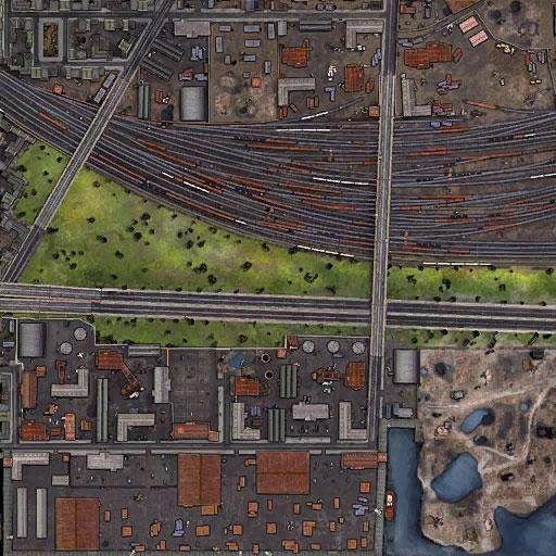 Карта Пор