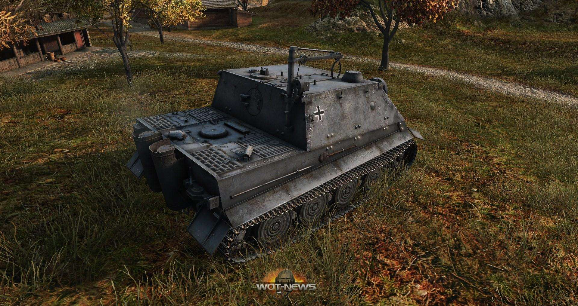 Sturmpanzer VI «Sturmtiger» - Танки с World of Tanks