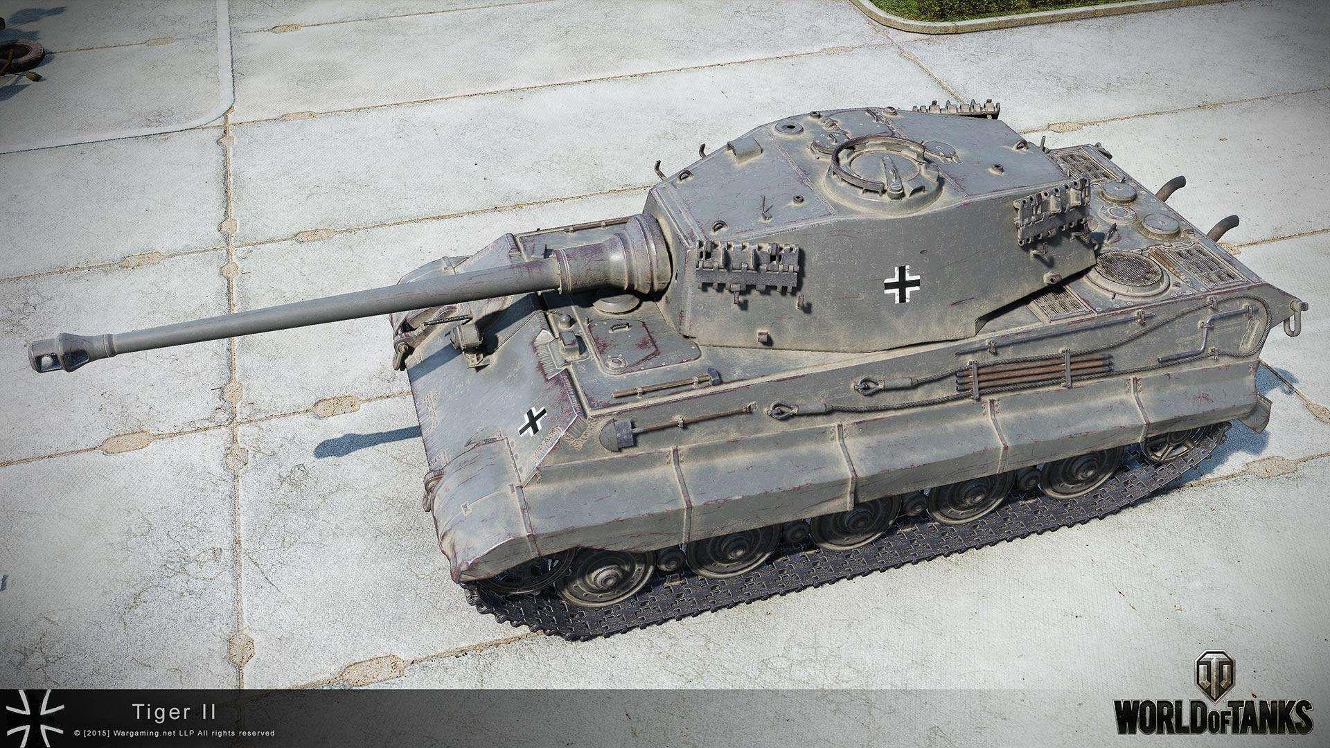 Tiger II в HD