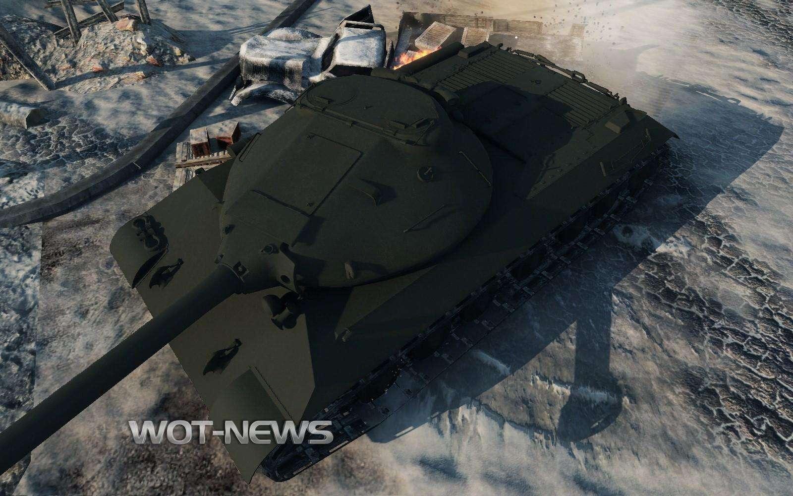 Kirovets-1 (IS-3 prototype) (Premium tier 8) - Upcoming