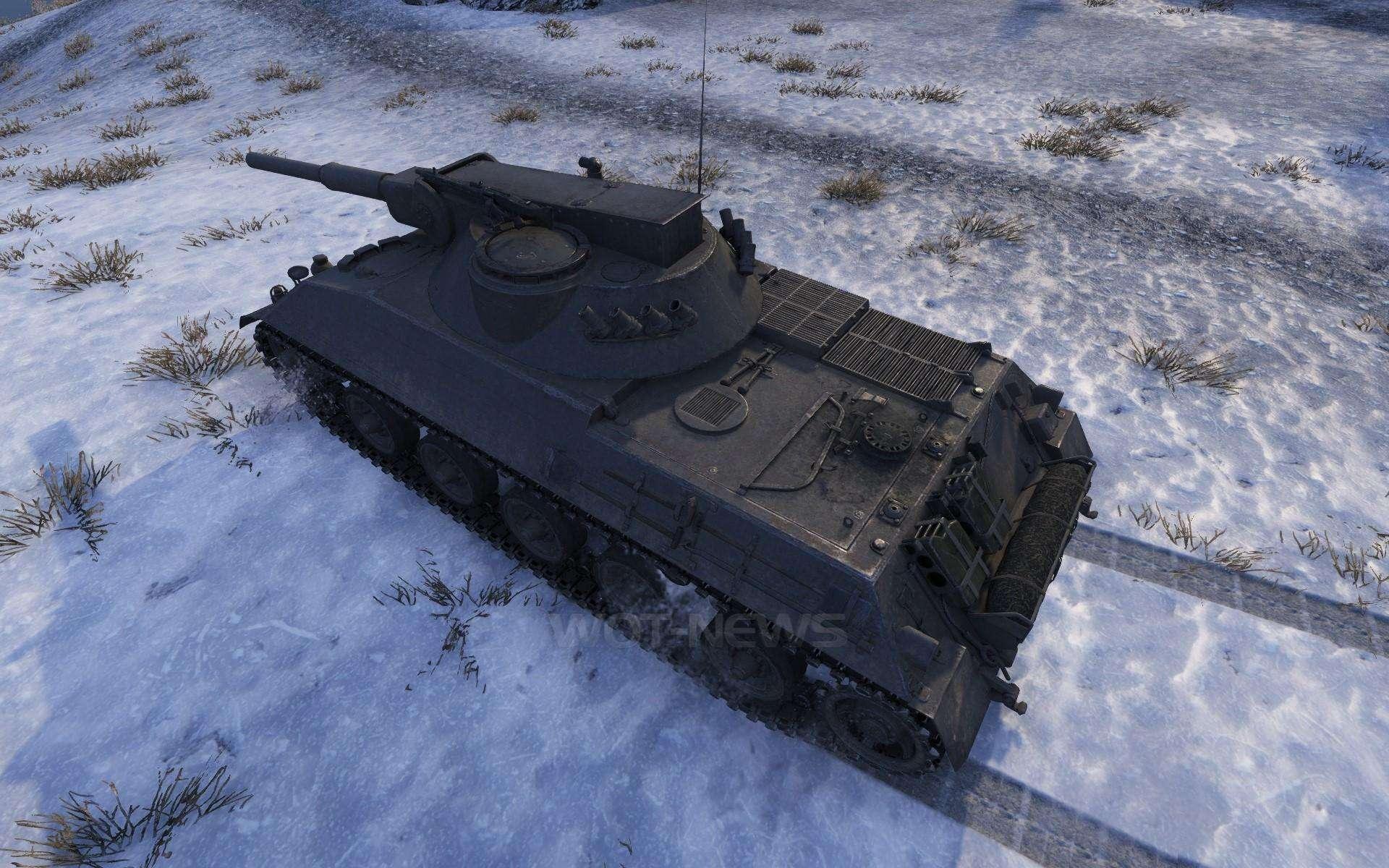 Rheinmetall Panzerwagen на Природе » WoT VideoWargaming