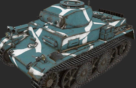 Немецкий легкий танк pz kpfw i ausf c автор